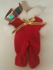 MATTEL RED JUMPSUIT AND HEADBAND SET~ BARBIE KELLY'S DOLLS CLOTHING OUTFIT