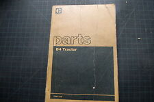 CAT Caterpillar D4 Tractor Dozer Crawler Parts Manual Book Shop catalog list 78A