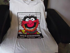 MENS T SHIRT THE MUPPETS ANIMAL WILD BEHAVIOUR SIZE XL