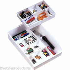 NEW DIAL CLUTTER BUSTER DRAWER ORGANIZER HOME OFFICE FREE SHIPPING