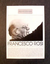 [GCG] AM41 - Clipping-Ritaglio -1978- INTERVISTA CON FRANCESCO ROSI , PLAYBOY
