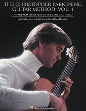 The Christopher Parkening Guitar Method Vol 1 Learn to Play Music Book