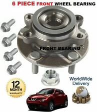 FOR NISSAN JUKE 1.5 1.6i 1.6 TURBO 2010- ON FRONT WHEEL BEARING HUB KIT COMPLETE