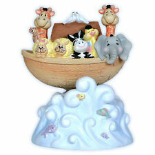 Precious Moments Rocking Noah's Ark Musical Figurine New 7122101