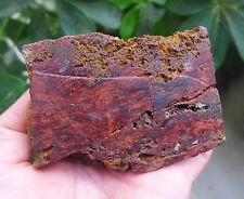 439g Natural Red Chatoyant Pietersite Rough Mineral/Petersite Raw Material 16#