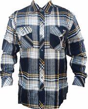 Dickies Longsleeve Plaid Flannel Shirt Pockets Brawny