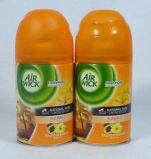2 Air Wick FreshMatic Spray Refills HAWAI'I TROPICAL SUNSET Airwick Refill