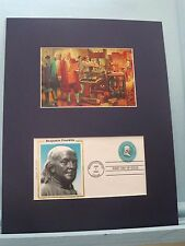 Ben Franklin and James Madison Review the Bill of Rights &  First day Cover
