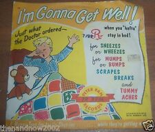 1954 I'M GONNA GET WELL! Peter Pan Records for Children 78 RPM HAPPY TUNES a