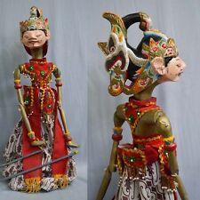 1 Holz Puppe Wayang Golek Marionette Original rod puppet GN61