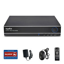 SANNCE 8CH 960H DVR H.264 Video Recorder for CCTV Home Security Camera System