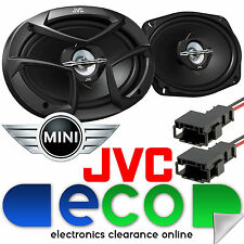 BMW Mini One r50 r53 JVC HARMON Kardon 3 VIE 6x9 800 WATT ALTOPARLANTE REAR Auto KIT