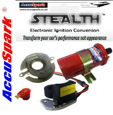 AccuSpark™ Electronic Ignition Kit & 12v Sports Coil For A+ Mini With Lucas 59D4