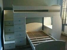 BUNK BED WITH DESK AND DRAWER STORAGE childrens themed beds £1200 made to order