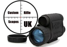 Infrared IR Night Vision Monocular Scope 6X50 Zoom 350m range + Records
