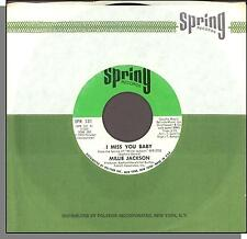 """Millie Jackson - I Miss You Baby + I Ain't Giving Up - 1972 7"""" 45 RPM Single!"""