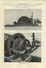 1925 Geared Colliery Winder For Canada Robey Lincoln