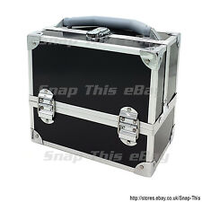 Large Space Storage Beauty Box Make up Nail Jewelry Cosmetic Vanity Case  Salon