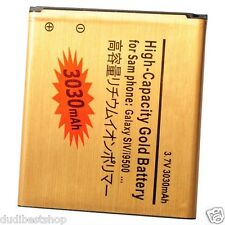 Battery Batery 3030 mAh batterie bateria Samsung Galaxy S4 i9500 Gold Replace