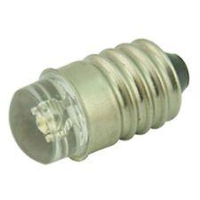 6V White LED MES Filament Replacement Bulb 100 Deg 2 Pk