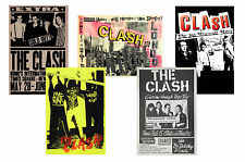 THE CLASH - SET OF 5 - A4 POSTER PRINTS # 2