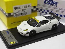 BBR 1:43 FERRARI F430 GTC EVO 2010 WHITE LIMITED 50PCS #BG372C