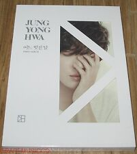 JUNG YONG HWA CNBLUE 1ST ALBUM A VERSION CD + PHOTOCARD + POSTER IN TUBE CASE