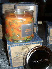 Partylite SPICED PUMPKIN SIGNATURE 3-wick JAR CANDLE  BRAND NEW FALL 2016 NIB