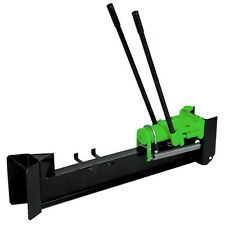 Charles Bentley 10 Tonne Hand Operated Heavy Duty Hydraulic Log Splitter - Green