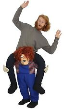 Piggy Back Fancy Dress - Adults Childs Play Chucky Halloween Costume