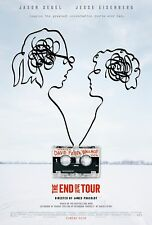 THE END OF THE TOUR MANIFESTO JASON SEGEL JESSE EISENBERG DAVID FOSTER WALLACE
