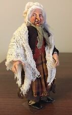 Dolls House 1/12th miniature Strega/old woman di Silke JANAS SCHLOESSER OOAK