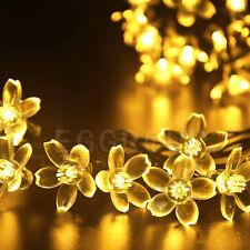 Solar Power 10-300 LED String Fairy Lights Outdoor Garden Xmas Party Decor Lamps