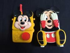 Mickey Mouse Peek A Boo Baby Crib Toy Musical Disney Illco Wind-up Vintage Radio