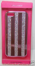 Victoria's Secret Sparkly Shiny DIAMOND Pink Silver iPhone 5 Case Cover NEW