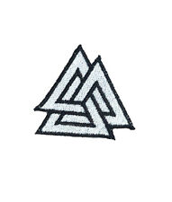 Ecusson patch VALKNUT TRIANGLE brodé airsoft paintball VIKING SOLDAT ODIN BIKER