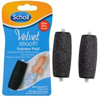 NEU Scholl Velvet Smooth with Diamond Crystals Express Pedi 2 Ersatzrollen