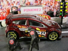 2015 Hot Wheels '12 FORD FIESTA ∞maroon;Yellow pr5;21∞Road Rally∞New Loose∞