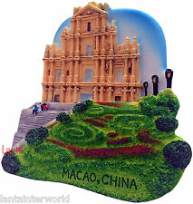 Ruins of St. Paul's Church Macao Republic China 3D Fridge Magnet Refrigerator