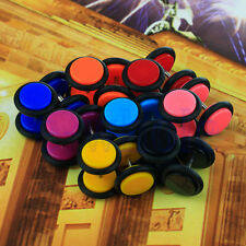 8 pairs of Cheater faux fake Ear Plugs Gauges Tapers 16G Earrings BE
