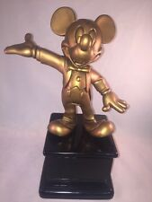 Disney Dreamers & Doers Shining Stars GOLD MOUSECAR Mickey Mouse Award Statue