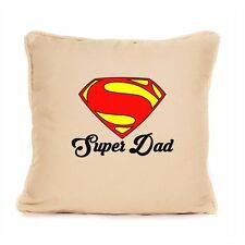 Decorative Cushion Gift for Dad Daddy Superman Inspired Fathers Day Home Present