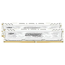 Crucial 32GB Kit 16GBx2 DDR4 PC4-19200 DIMM 288-pin Memory Ram BLS2K16G4D240FSC