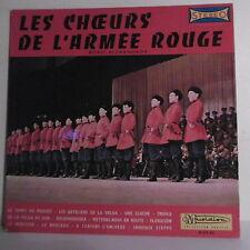 """33 tours Boris ALEXANDROV Disque LP 12"""" CHOEURS ARMEE ROUGE - MUSIDISC 931"""