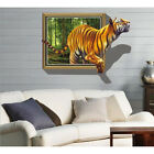 3D Tiger Animal Removable Decal PVC Wall Sticker Home Decor Vinyl Art Mural New