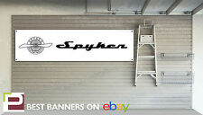 Spyker Workshop Garage Banner, C8, B6, F1