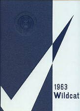 "REPRINT: 1963 North Little Rock High School Yearbook - ""Wildcat"" - Arkansas"