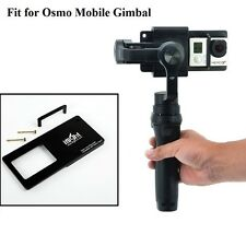 Compatible Switch Mount Plate adapter for Osmo Mobile Zhiyun Z1 Smooth C R 2 II