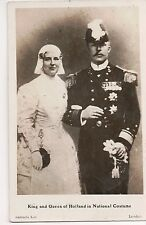 Vintage Postcard Queen Wilhelmina & Prince Consort Henry of The Netherlands