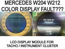 Mercedes MB W204 W212 Kombiinstrument Tacho color Display Module Anzeige cluster